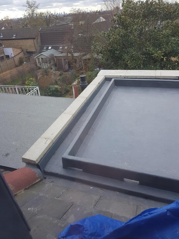 Image 14 - Fibre glass roof and copings
