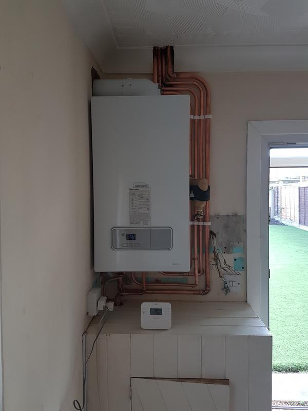 Image 11 - Conventional system replaced with a combi boiler.