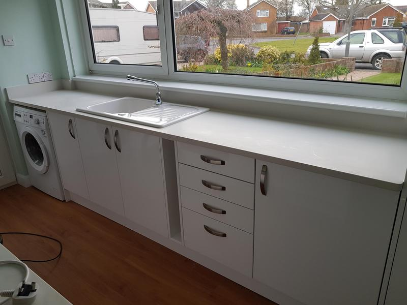 Image 37 - Benchmarx kitchen with slabtech worktop