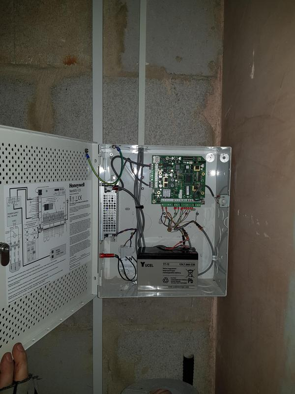 Image 4 - Access control installation