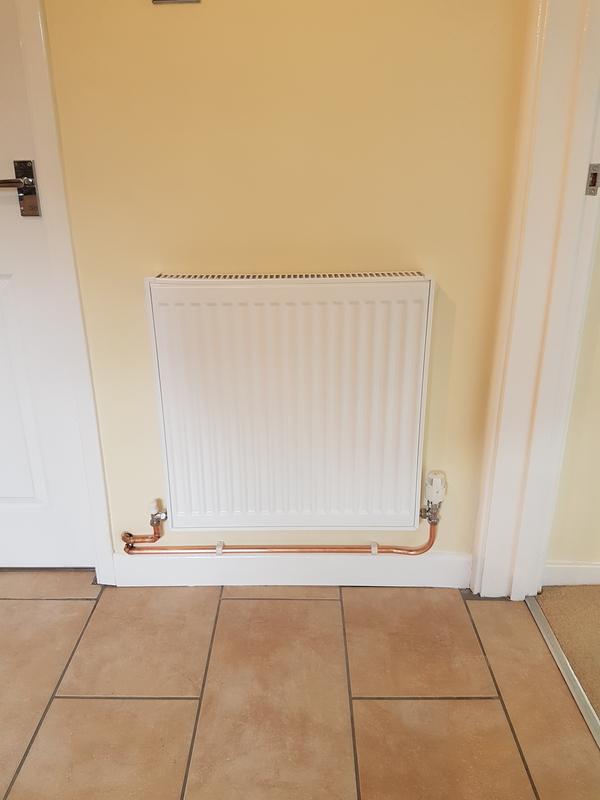 Image 4 - New radiator install.