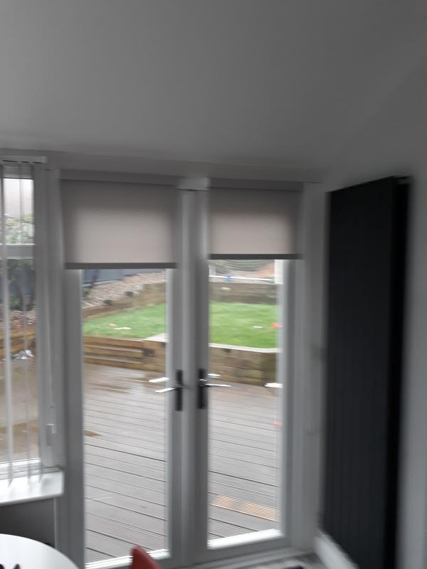 Image 14 - roller blinds on patio doors