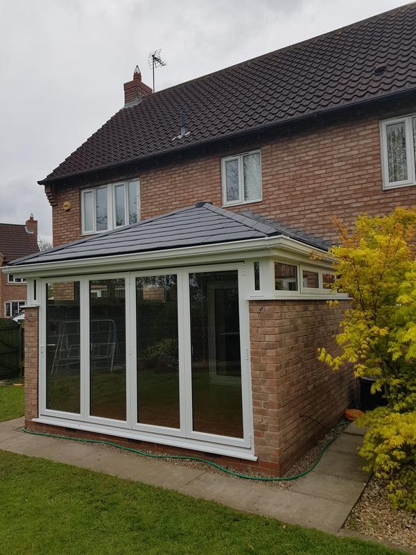 Image 32 - Synseal Celsius solid roof installed in North Muskham.