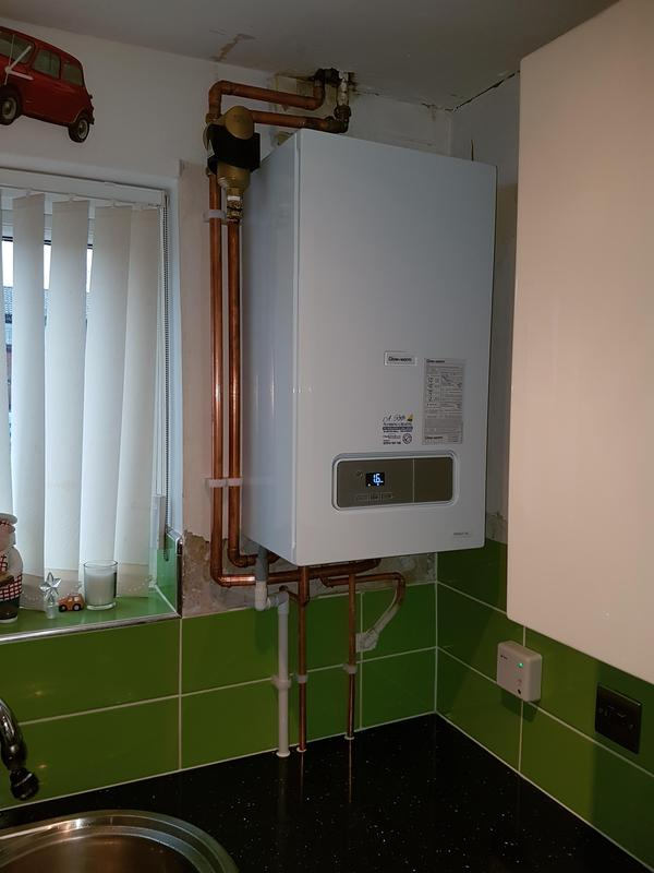Image 6 - New Combi boiler Install. Tanks in loft/ hot water cylinder removed.