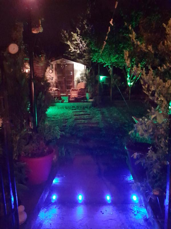 Image 5 - LED colour change garden lighting