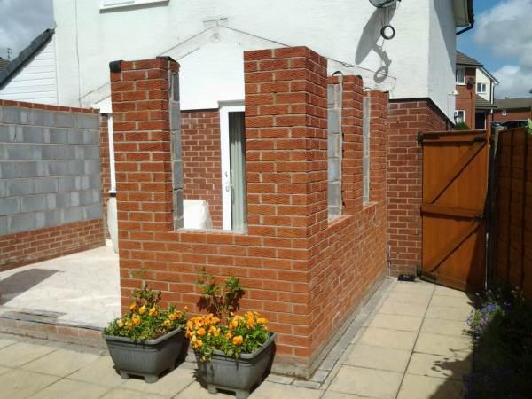 Image 54 - Orangery Brickwork