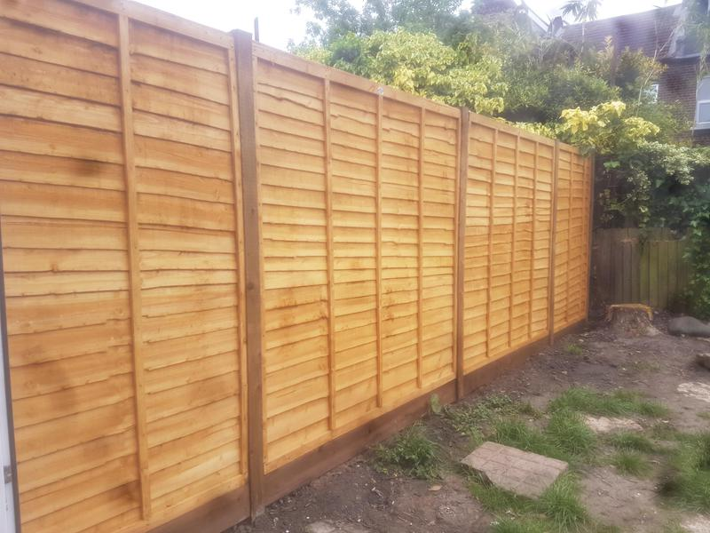 Image 23 - New fence installed