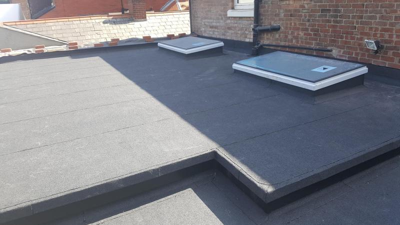 Image 25 - Felt roof
