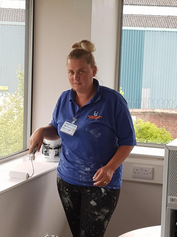 Image 3 - Tracy is just one of our much appreciated staff working hard as always