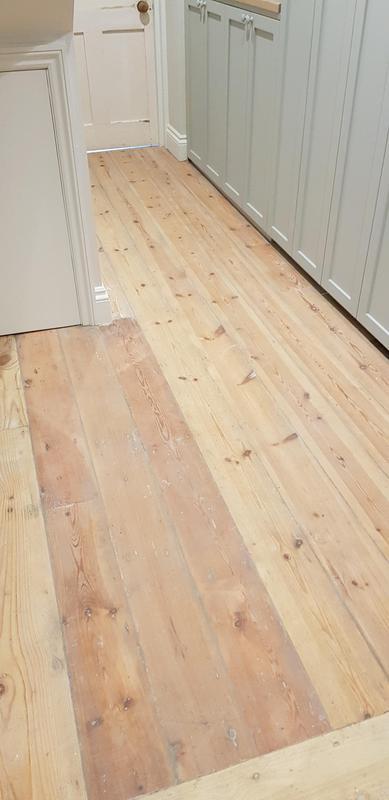 Image 20 - Flooring - sanded