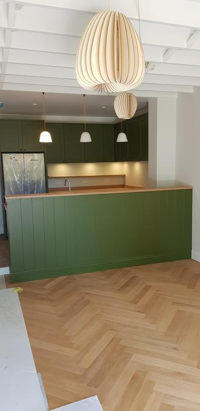 Image 33 - Hand made kitchen to customer specification