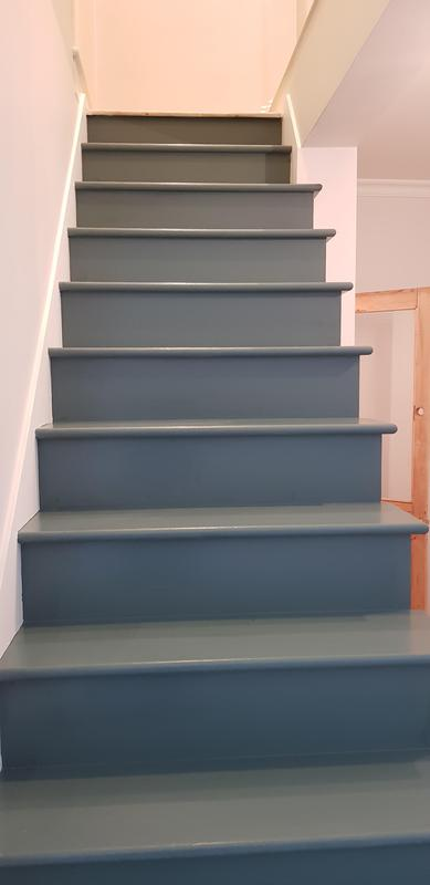 Image 41 - New staircase and painted to customer specification