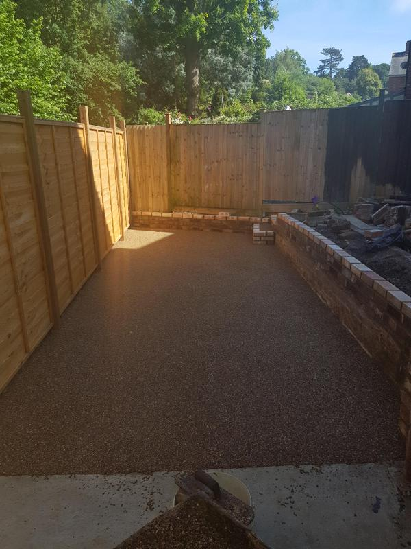 Image 7 - New resin patio and fencing Tunbridge wells