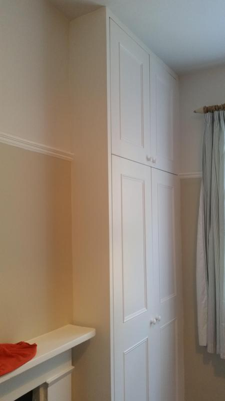 Image 49 - Double wardrobes with adjustable sheliving built into alcoves. Hand made and hand painted