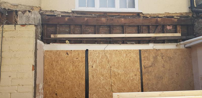 Image 64 - CM23 2NG -                DURING, ROOF TIMBERS INSTALL