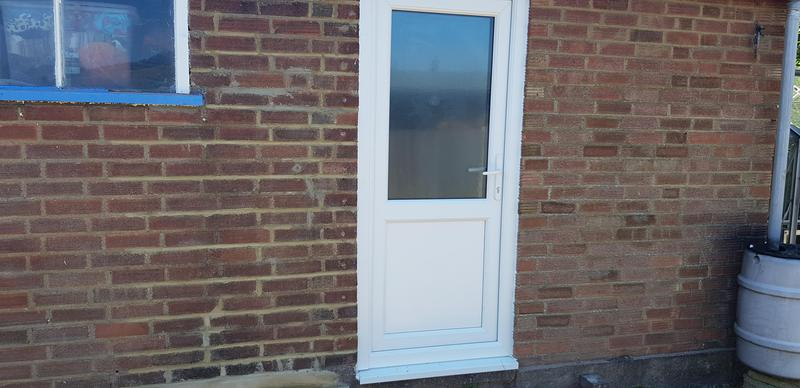 Image 64 - SUPPLY AND FITTED new upvc door and frame