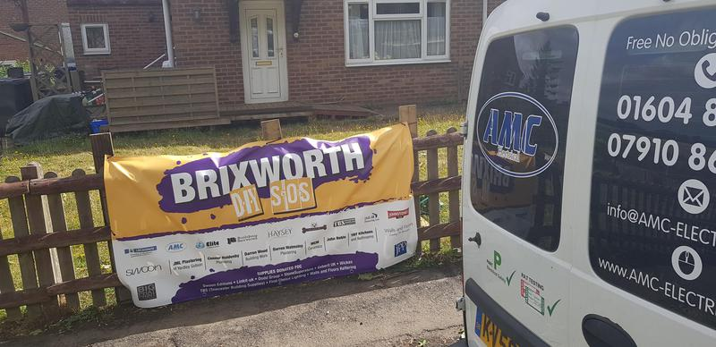Image 25 - Primary electrical contractor on Brixworth DIY SOS. All for free and for a great cause