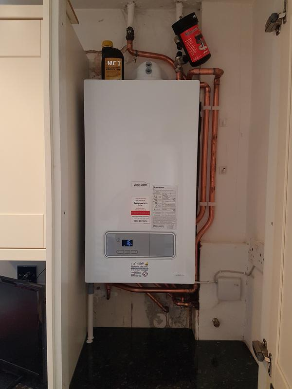 Image 65 - New combi boiler fitted.