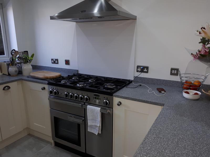 Image 9 - Kitchen installation in Marlow, 2018.