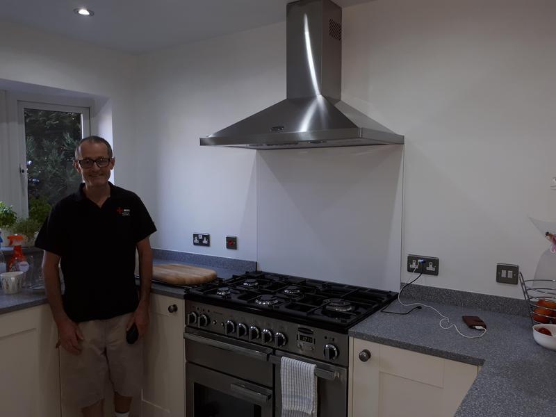 Image 8 - Kitchen installation in Marlow, 2018.