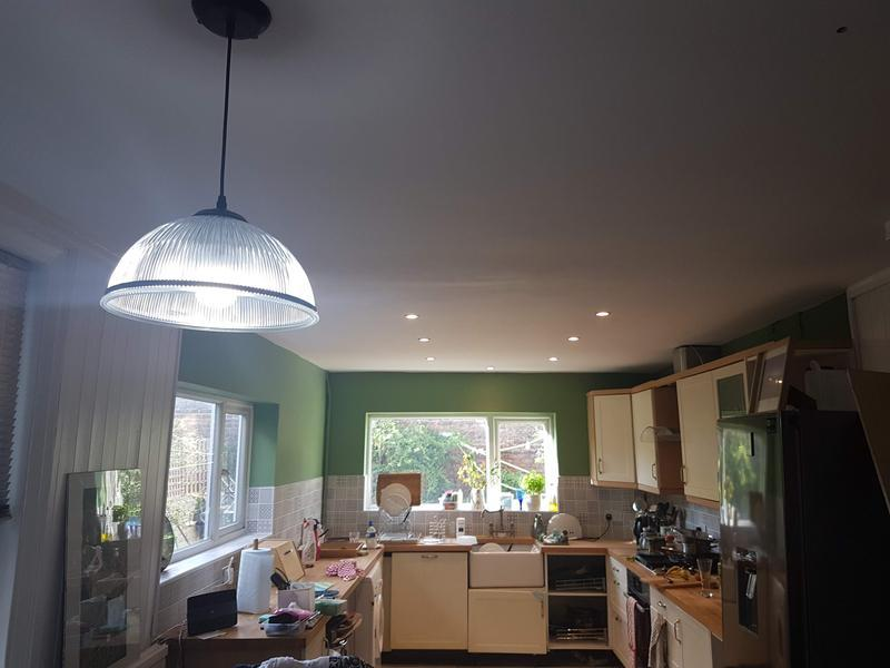 Image 6 - New down lights and new pendant in kitchen