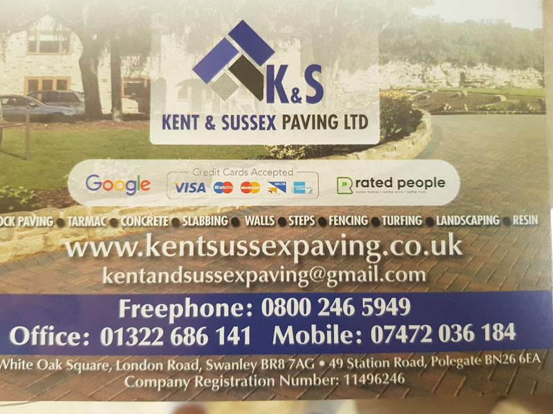 Kent & Sussex Paving Ltd logo