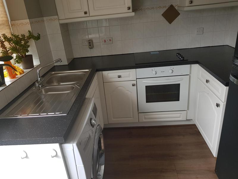Image 12 - New worktops and sink installed to an existing kitchen.