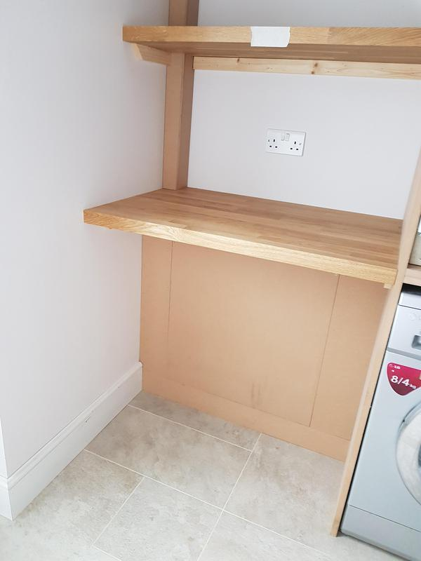 Image 46 - Utility room with oak worktop