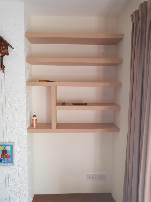 Image 38 - MDF shelves