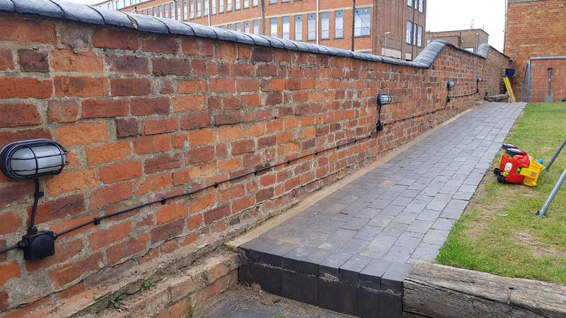 Image 55 - Lovely industrial look for walled We advised the customer on this one to achieve this look they wanted