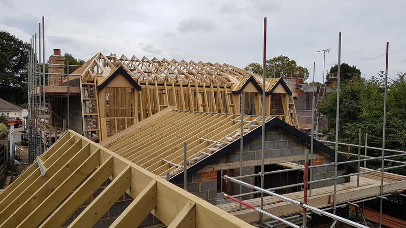 Image 16 - Dutch Barn Style Hand Cut Roof