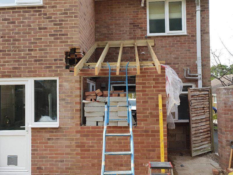 Image 19 - Extension nearly built