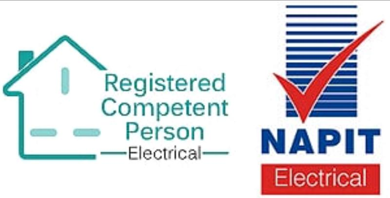 Image 45 - We are registered electricians through NAPIT a government UKAS scheme
