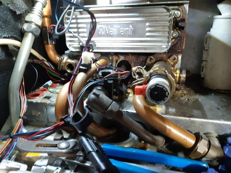 Image 1 - Water leak repair (BEFORE)