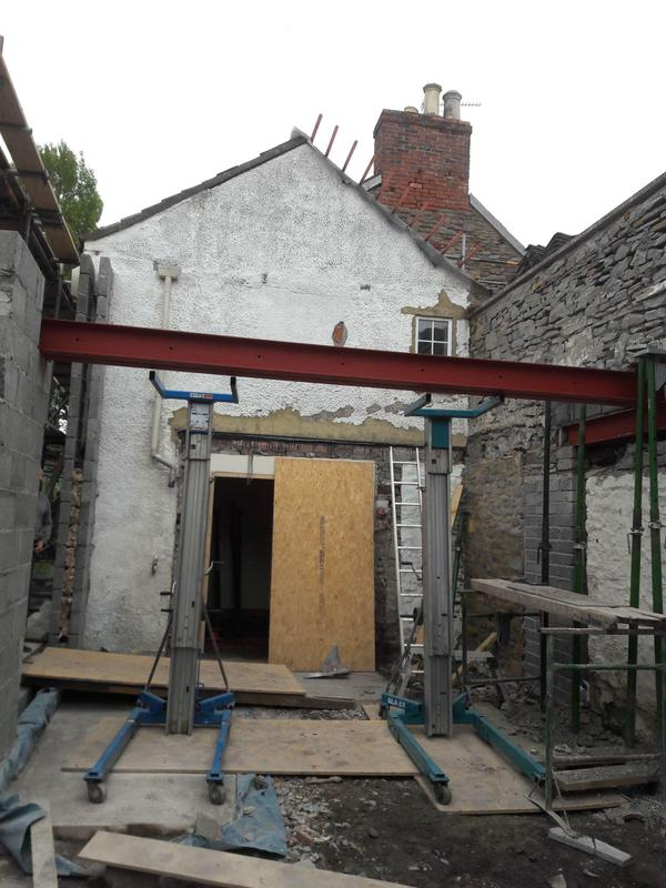 Image 2 - First steel in