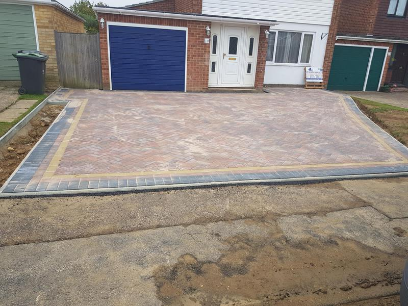 Image 3 - New driveway installation tonbridge stainer rd