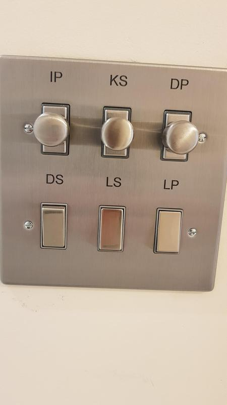 Image 37 - We fitted varilight grid switches which I had laser etched to identify which does what