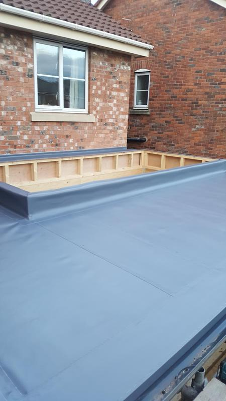 Image 37 - Single ply membrane roof