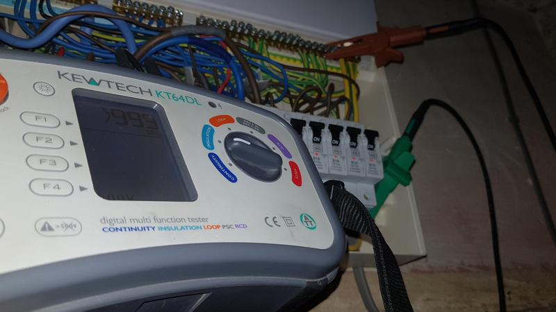 Image 24 - Some recent fault finding on an electric storage heater wiring system