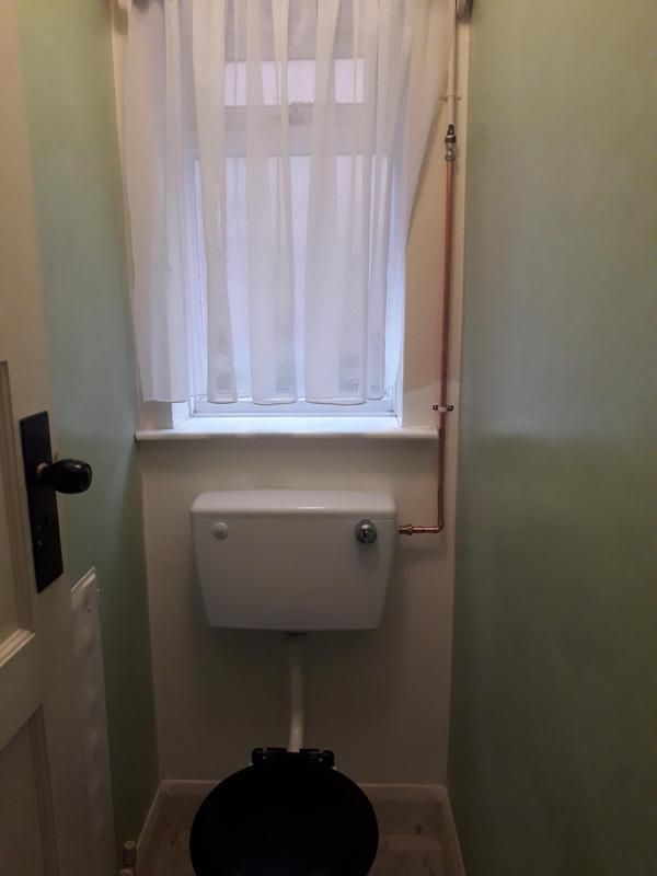 Image 7 - Supply and fit replacement low level cistern, and pipework.