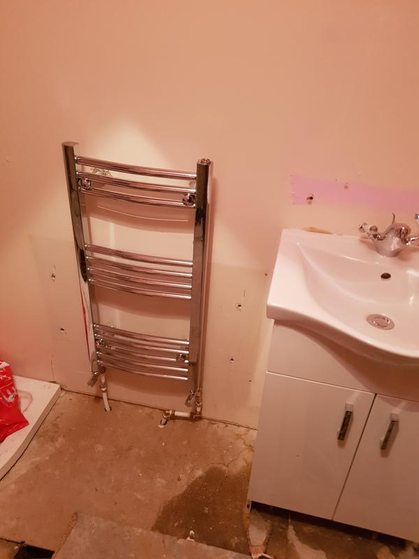Image 34 - new heated towel rail