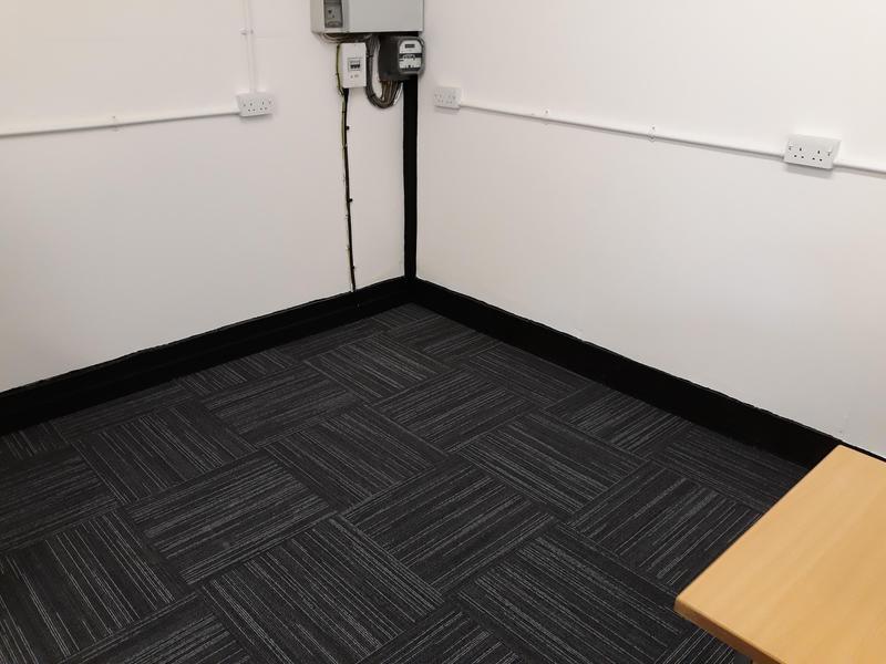 Image 16 - office carpet tile install
