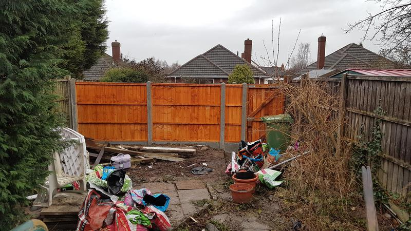 Image 9 - After picture of a recent fencing job in tamworth