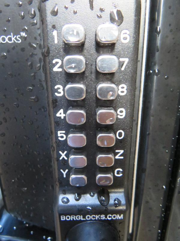 Image 183 - Close Up of Numbered 2 Way Lock