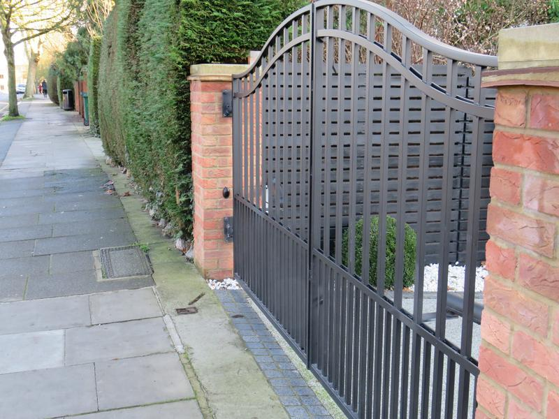Image 16 - Automated Steel Security Driveway Gates.