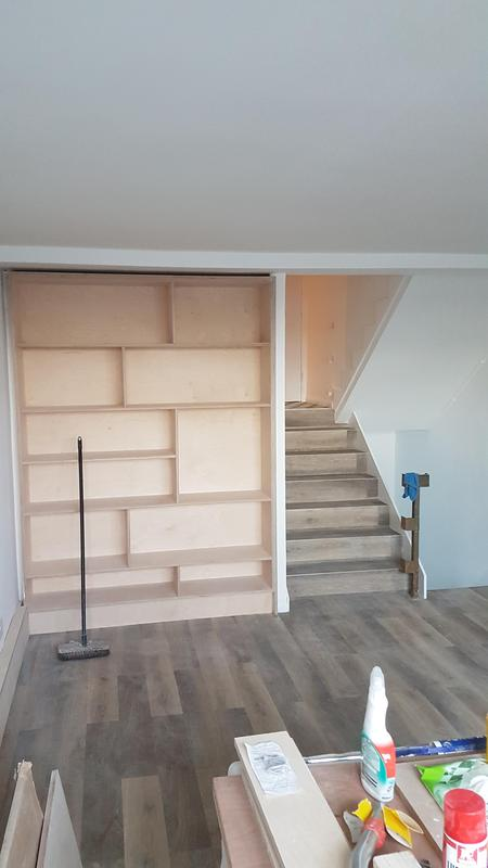 Image 32 - Bespoke brich ply cupboards
