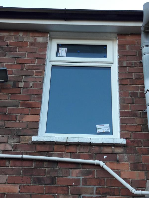 Image 6 - After the finishing result in new bathroom window fitted all the windows fitted to customers design