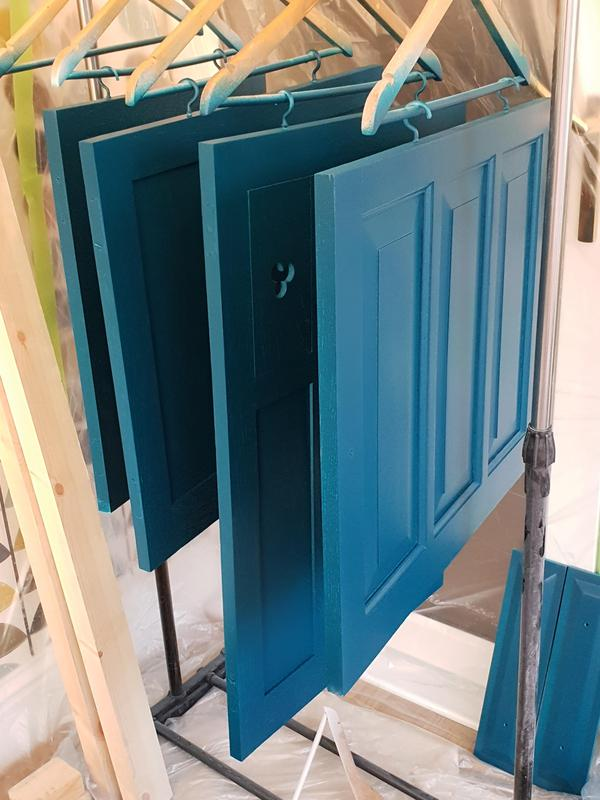 Image 21 - Doors having tinted lacquer applied