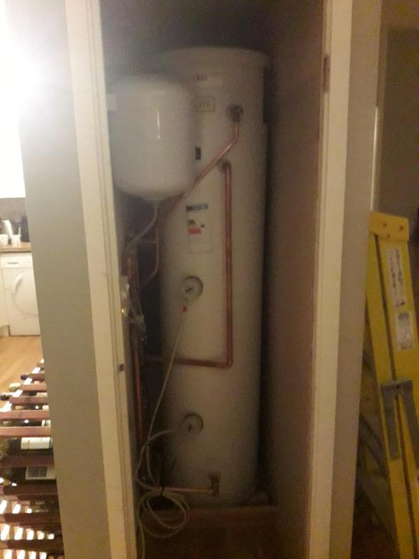 Image 9 - Supply and fit replacement unvented cylinder: after.