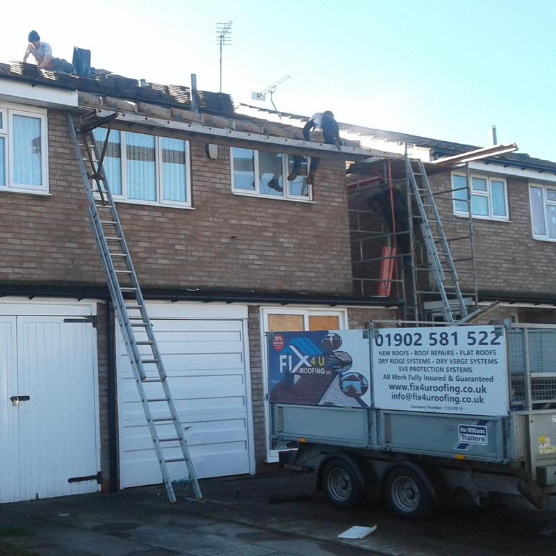 Image 17 - New upvc fascia boards, new e,p,s eve protection system under felt trays